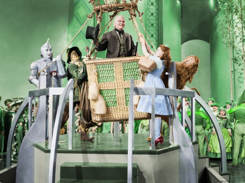 """Hot Air Balloon Scene from """"The Wizard of Oz"""""""
