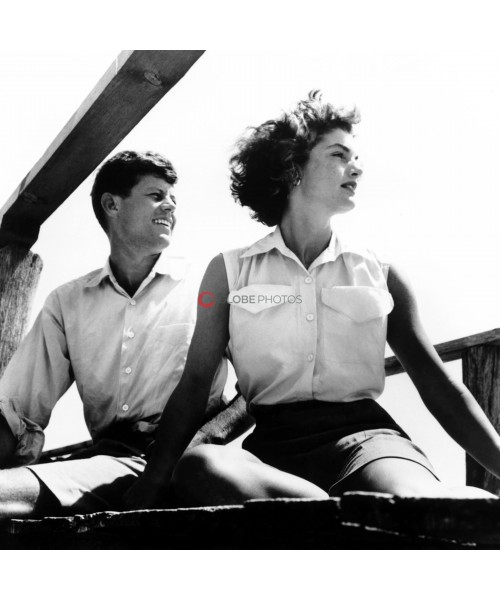 John F. Kennedy and Jackie Kennedy: Living in the Sunshine
