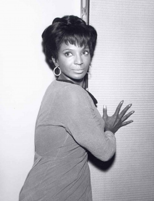 Young Nichelle Nichols Looking Over Shoulder