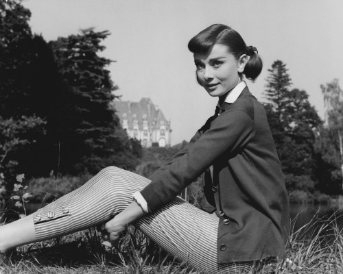 """Audrey Hepburn in """"Love in the Afternoon"""""""