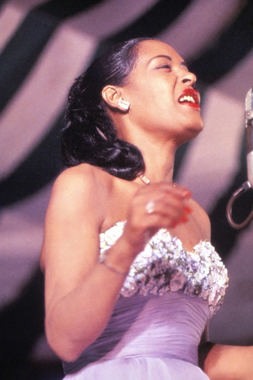 Billie Holiday on Stage