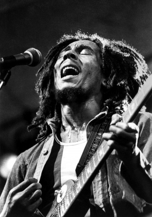 Bob Marley Performing in Central Park