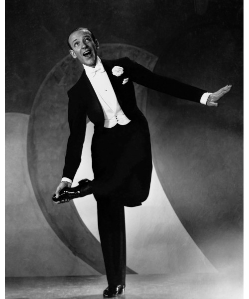 Fred Astaire Dancing in the Studio