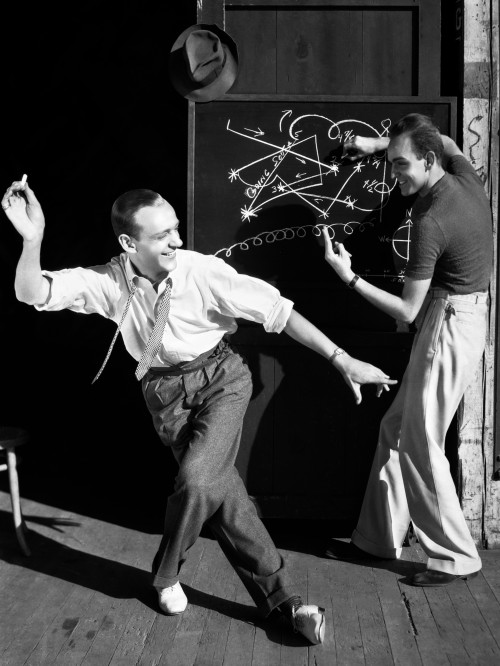 Fred Astaire Planning Dance Moves
