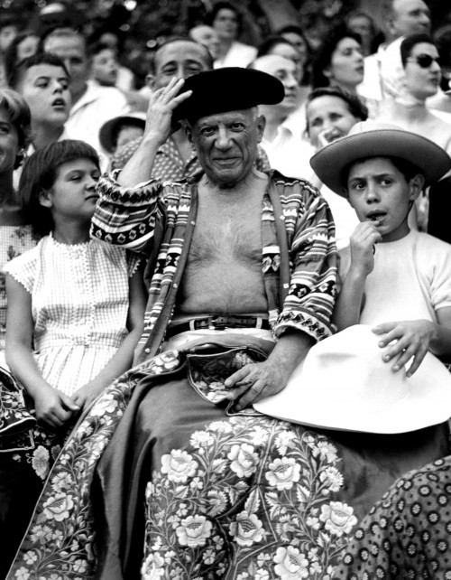 Pablo Picasso at the Bullfights