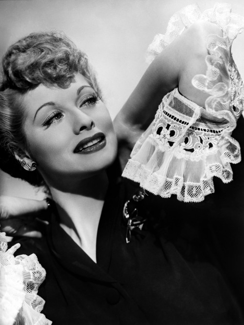Lucille Ball: 1950's Glamour