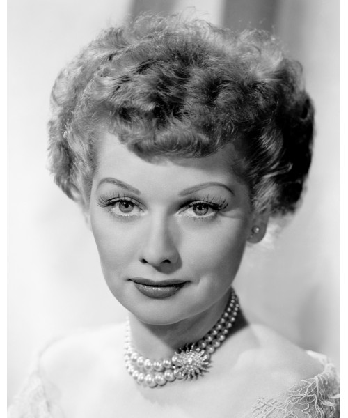 Lucille Ball in Pearls