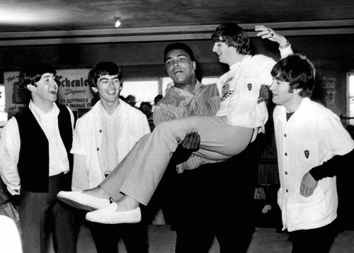 Ali and the Beatles in Miami