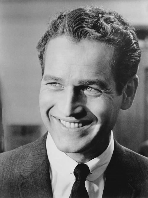 """Paul Newman Smiling in """"The Prize"""""""