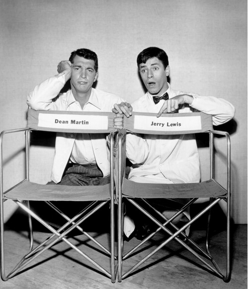Martin and Lewis with Casting Chairs