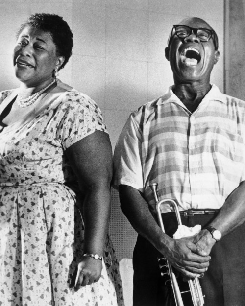 Jazz Legends: Ella Fitzgerald and Louis Armstrong