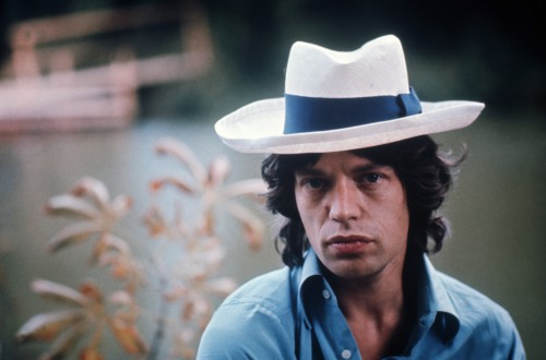 Mick Jagger in Awesome Color