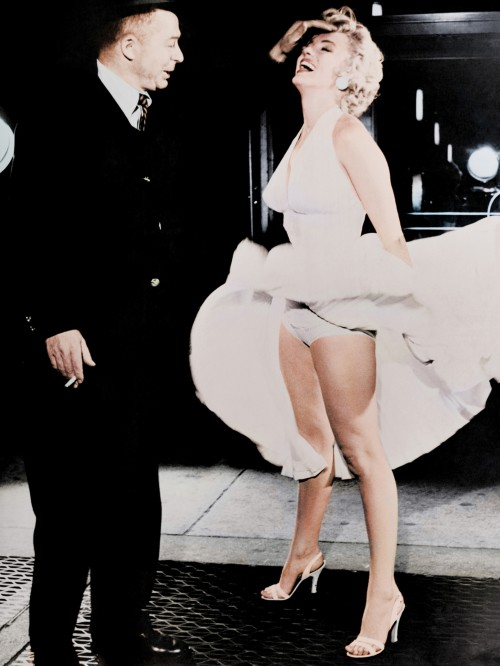 """Billy Wilder and Marilyn Monroe """"The Seven Year Itch"""""""