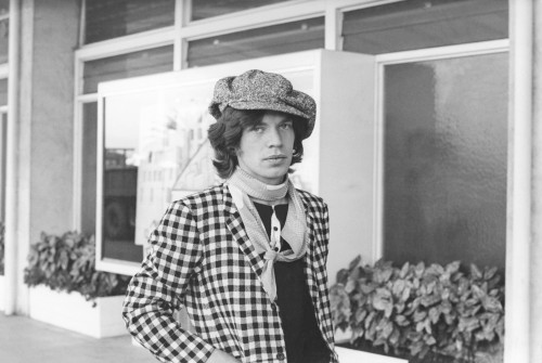 Young Mick Jagger in Paris