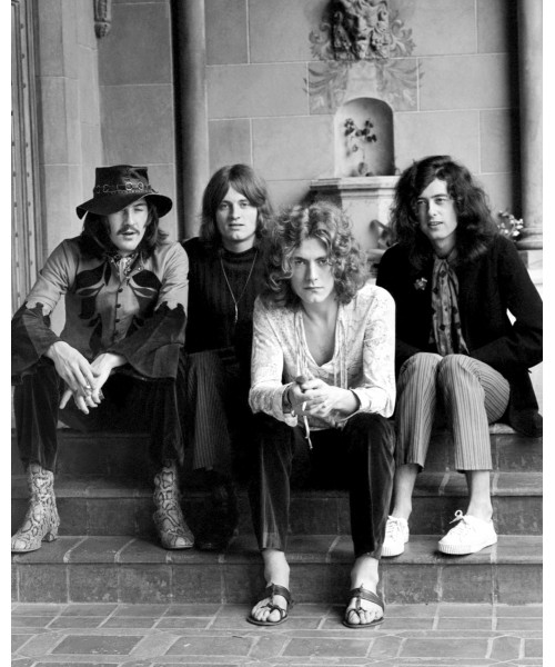 Led Zeppelin at Chateau Marmont, Sunset Boulevard