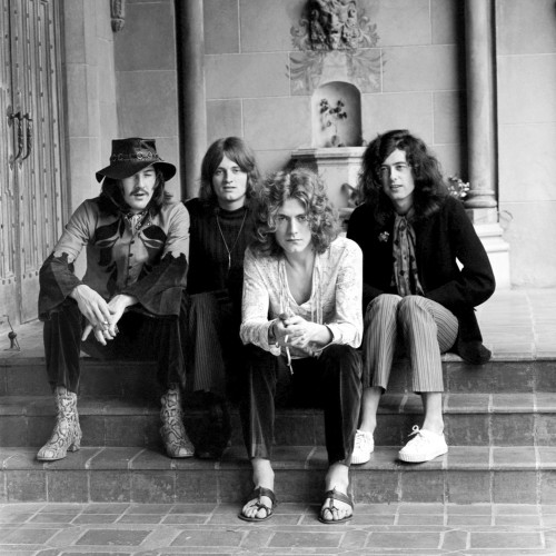 Led Zeppelin at Hollywood's Chateau Marmont
