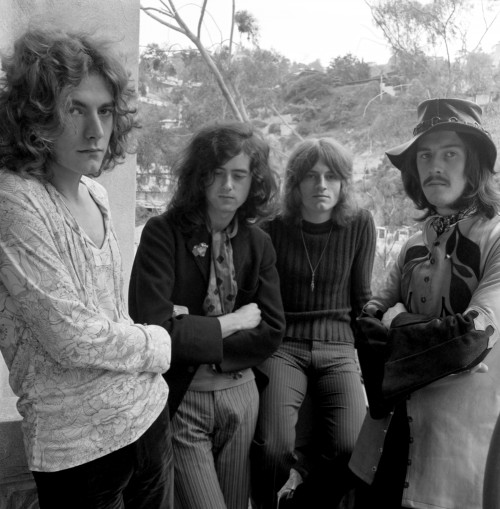 Led Zeppelin Outside the Chateau Marmont