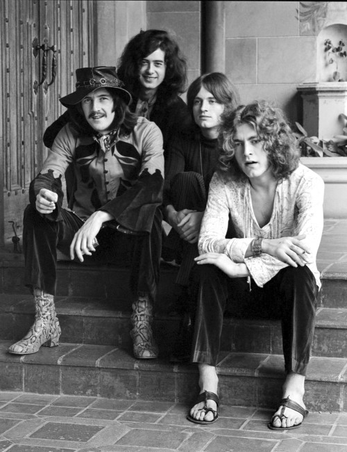 Led Zeppelin at the Historic Chateau Marmont
