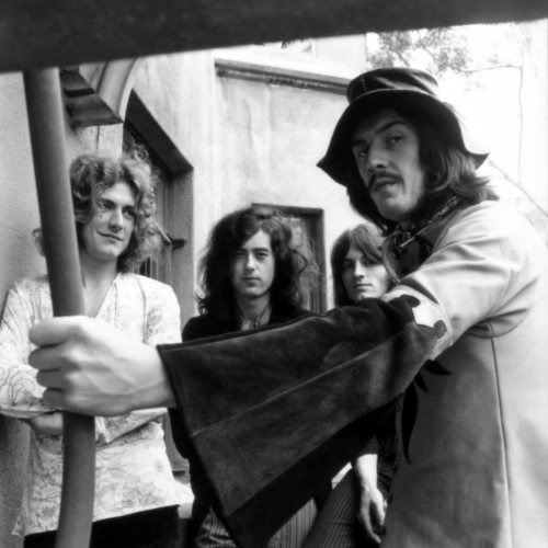 Led Zeppelin Partying at the Chateau