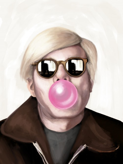 Andy Warhol Bubble Gum