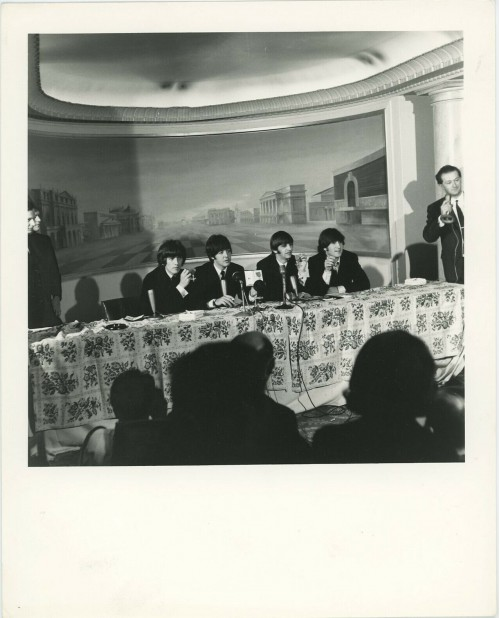 Beatles Press Conference in 1964
